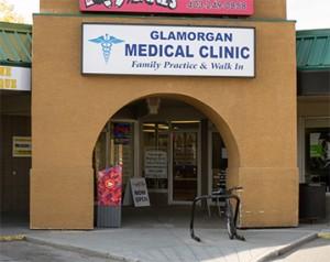 Glamorgan Medical Entrance